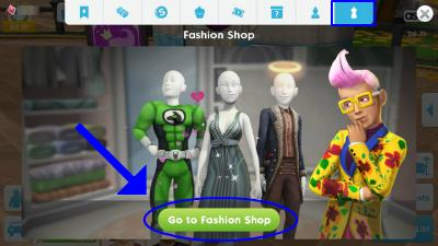 Design A Good Dress From Izzy Fashion Shop The Sims Mobile Gamea