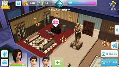 Locations in the Sims Mobile | The Sims Mobile - GameA