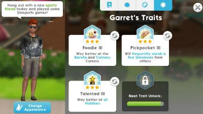 Traits: How to Unlock & Effect | The Sims Mobile - GameA