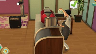 Barista Career | The Sims Mobile - GameA