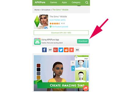 The Sims Mobile APK   The Sims Mobile - GameA